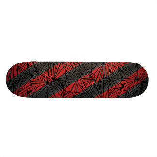 Broken Glass Diagonal Stripe Illustration Skateboard Decks