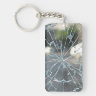 Broken Glass Keychain