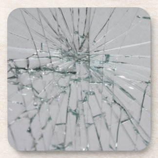 Broken Glass-Look Coaster
