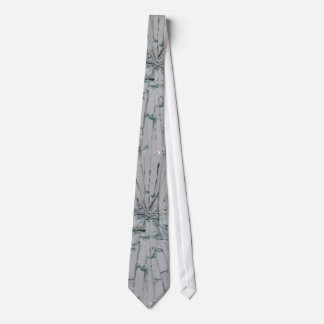 Broken Glass-Look Tie