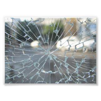 Broken Glass Photo Print
