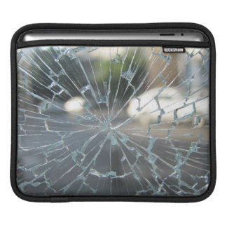 Broken Glass Sleeves For iPads