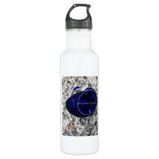 Broken Glass Stainless Steel Water Bottle