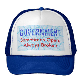 Broken Government Trucker Hat