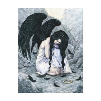 Broken Halo Fallen Angel Canvas Print