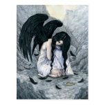 Broken Halo Fallen Angel Postcard