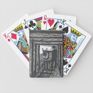 Broken Harness Bicycle Playing Cards
