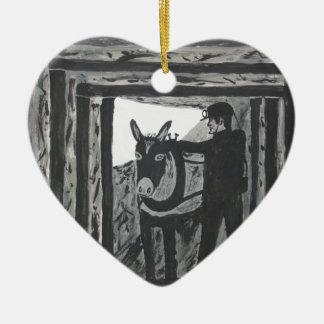 Broken Harness Ceramic Ornament