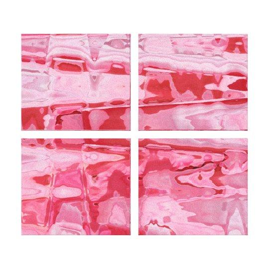 Broken Heart Abstract Canvas Print