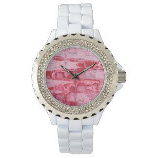 Broken Heart Abstract Wrist Watch