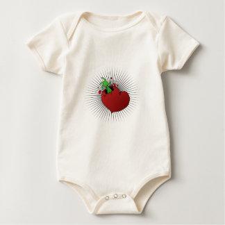 Broken Heart Baby Bodysuit