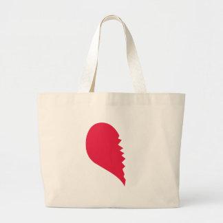 Broken Heart Bags