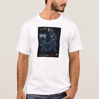 Broken Heart Blue Glow.jpg T-Shirt