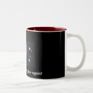 broken heart, Broken hearts will g... - Customized Two-Tone Coffee Mug