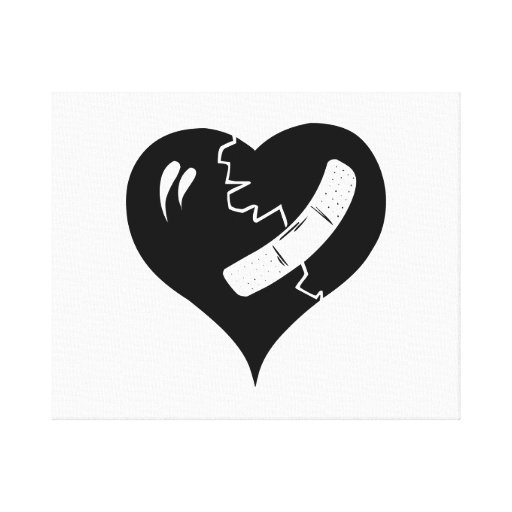 Broken Heart Canvas Prints