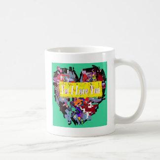 Broken Heart Coffee Mug