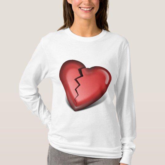 broken heart - Customized T-Shirt