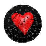 Broken Heart Dartboard