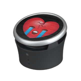 Broken Heart Emoji Bluetooth Speaker