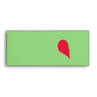 Broken Heart Envelope