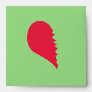 Broken Heart Envelopes