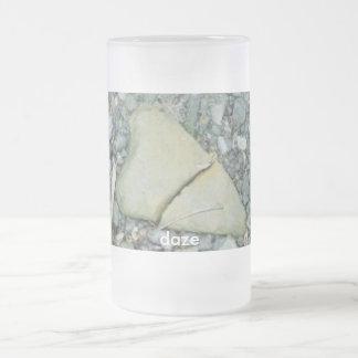 BROKEN HEART, happy, valentine's, daze 16 Oz Frosted Glass Beer Mug