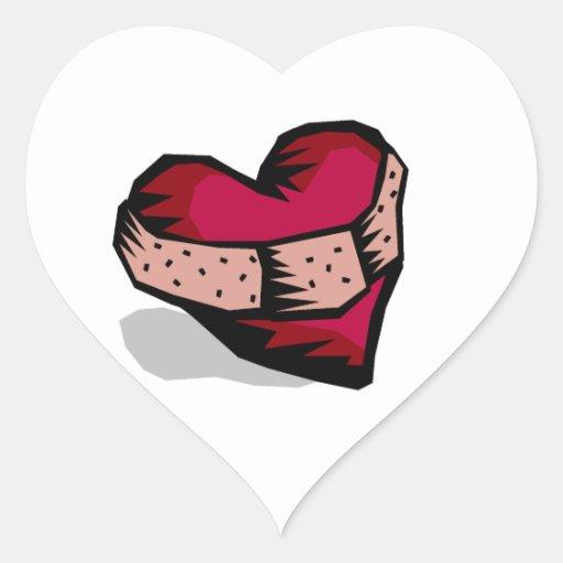 Broken Heart Heart Stickers