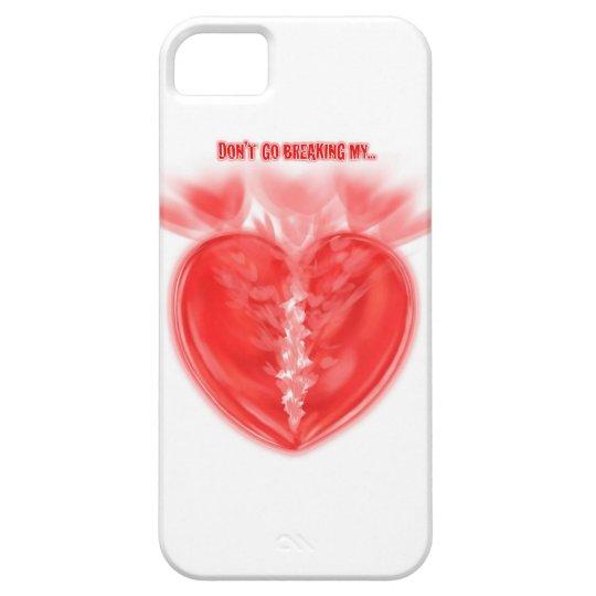 BROKEN HEART iPhone SE/5/5s CASE