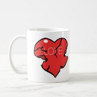 Broken Heart Love Coffee Mugs