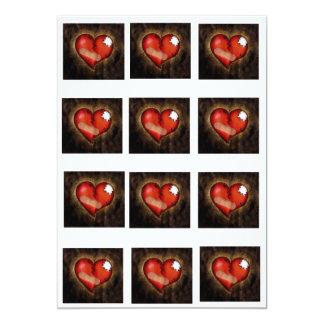 Broken Heart/Mending Heart-invitation Card
