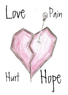 Broken Heart Cards | Zazzle