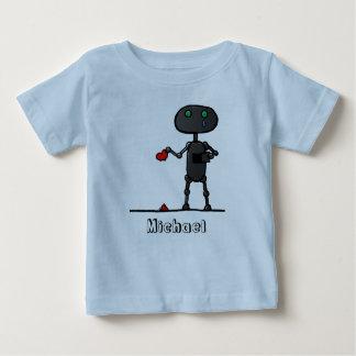 Broken Heart Personalized Infants T-Shirt