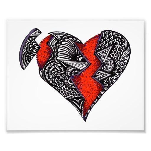 Broken Heart Art Photo