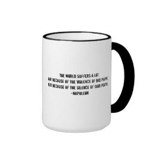 Broken Heart+Quote Ringer Mug