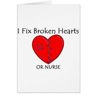 Broken Heart RN 1 Card