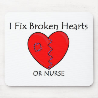 Broken Heart RN 1 Mouse Pad