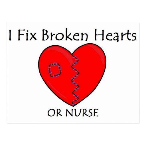 Broken Heart RN 1 Post Card
