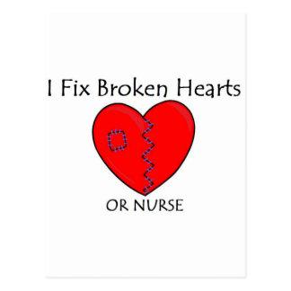 Broken Heart RN 1 Postcard