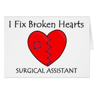 Broken Heart SA 1 Greeting Card