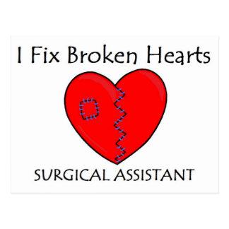 Broken Heart SA 1 Postcard