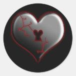 Broken Heart Stickers