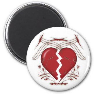 Broken Heart & Tribal Graphics: Magnets