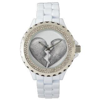 Broken heart watch