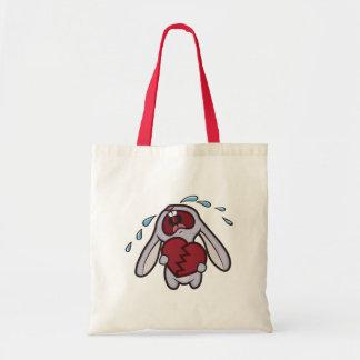 Broken Hearted Bunny Tote Bag