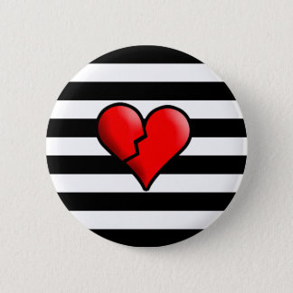 Broken Hearted Button