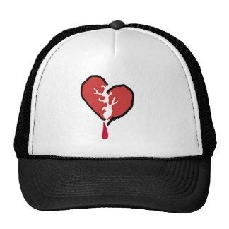 broken hearted hat