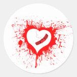 Broken Hearted Sticker