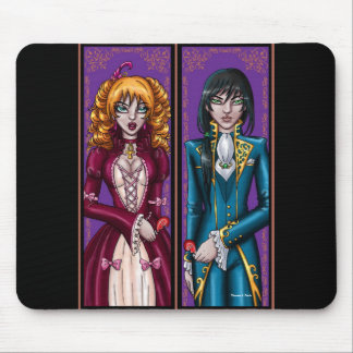 Broken Hearted Vampire Mouse Pad