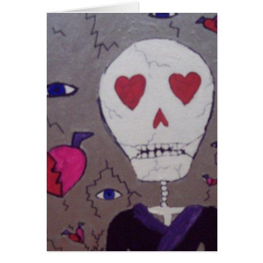 Broken hearts and Grimm Card
