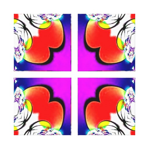 Broken Hearts Wrapped Canvas Stretched Canvas Prints